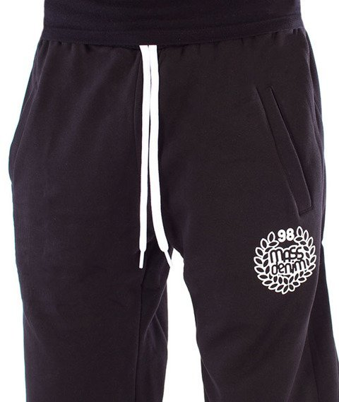Mass-Base Regular Fit Spodnie Dresowe Black