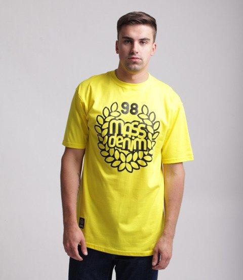 Mass Base T-Shirt Żółty