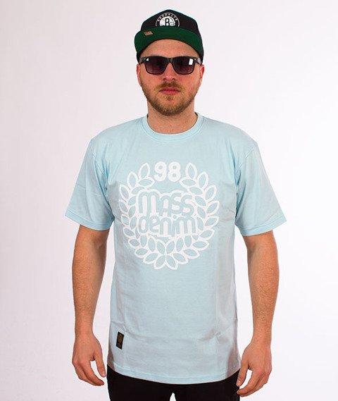 Mass-Base T-shirt Niebieski