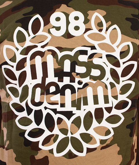 Mass-Base T-shirt Woodland Camo