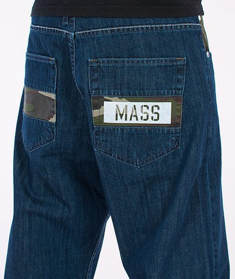 Mass-Battle Baggy Fit Jeans Blue