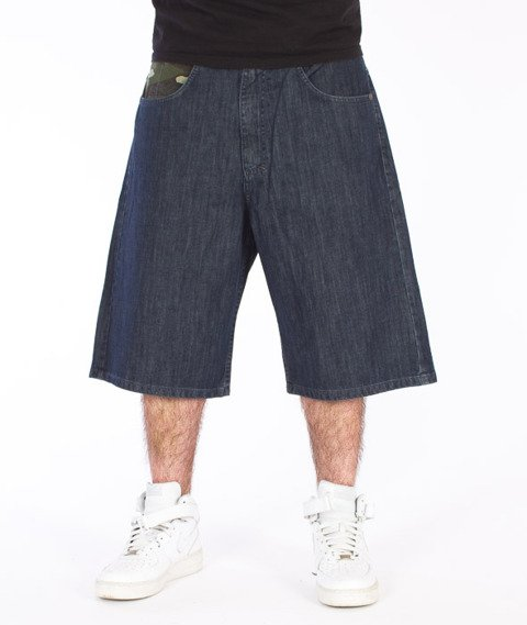 Mass-Battle Shorts Baggy Dark Blue