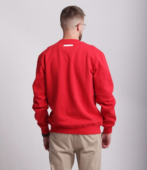 Mass CLASSICS Bluza Czerwony
