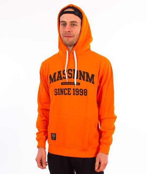 Mass-Campus Bluza z  Kapturem Orange
