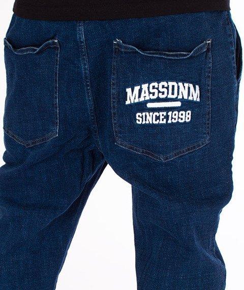 Mass-Campus Jogger Spodnie Dark Blue