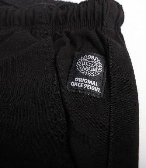 Mass Chino Classics Straight Fit Spodnie Krótkie Black