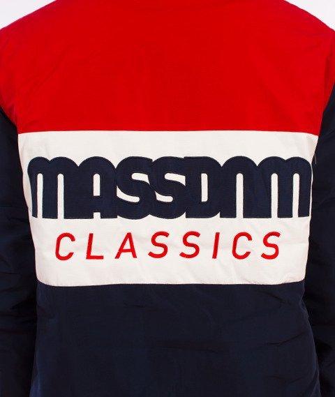 Mass-Classics Cut Kurtka Zimowa Biała/Czerwona/Granatowa