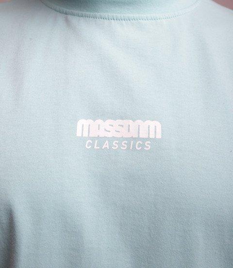 Mass Classics Small Logo T-Shirt Miętowy
