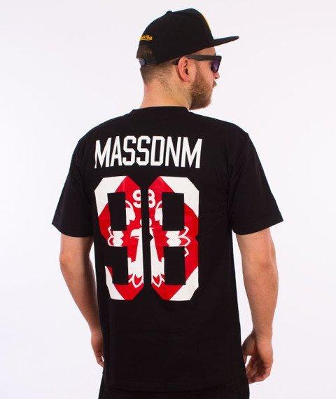 Mass-Crest T-shirt Czarny