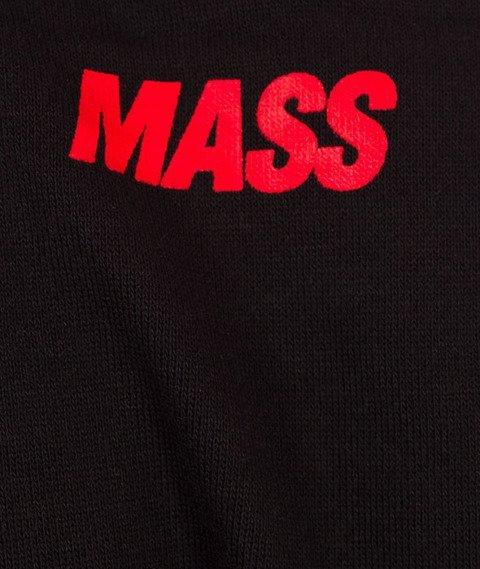 Mass-Curing Cut Crewneck Bluza Black