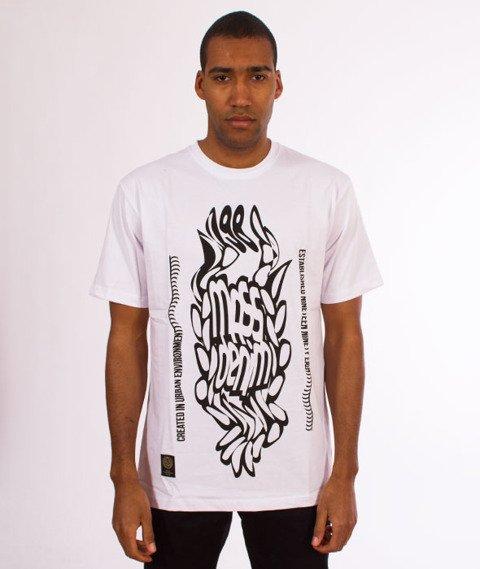 Mass-Disruption T-Shirt Biały