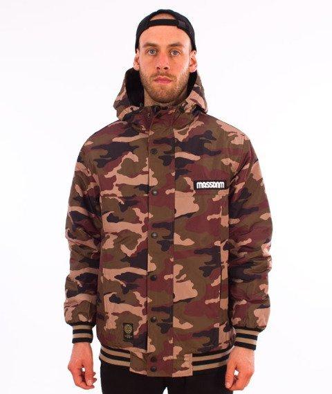 Mass-District Jacket Kurtka Woodland Camo