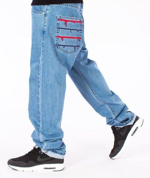 Mass-Dripline Regular Fit Jeans Light Blue