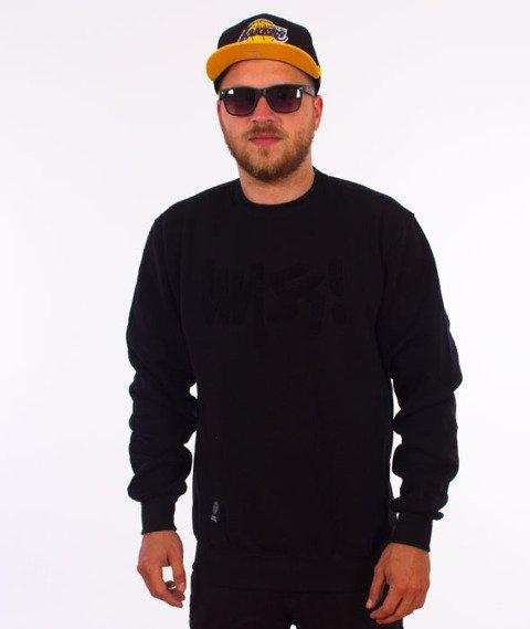 Mass-Egde Crewneck Bluza Czarna