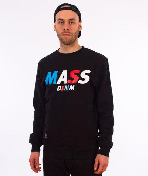 Mass-Grand Crewneck Bluza Czarna