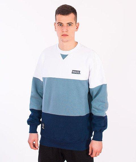 Mass-Horizon Bluza Biała/Błękitna/Niebieska