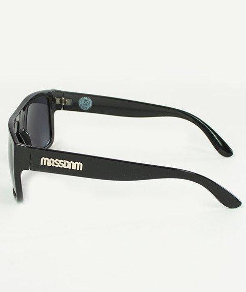 Mass-Icon Sunglasses Okulary Przeciwsłoneczne Shine Black