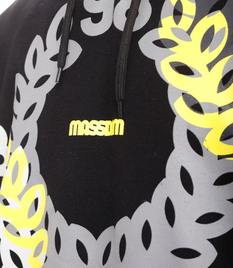 Mass JAM Bluza z Kapturem Czarny