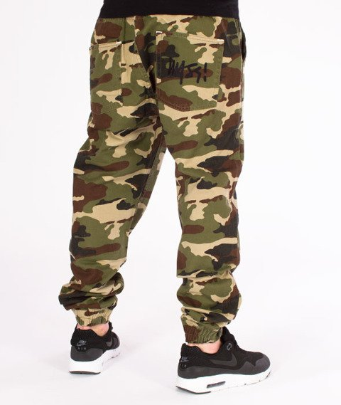 Mass-Jogger Pants Signature Woodland Camo