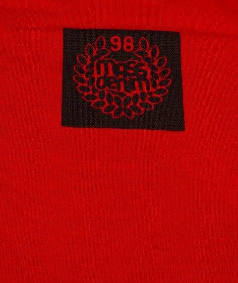Mass-Marker T-Shirt Czerwony