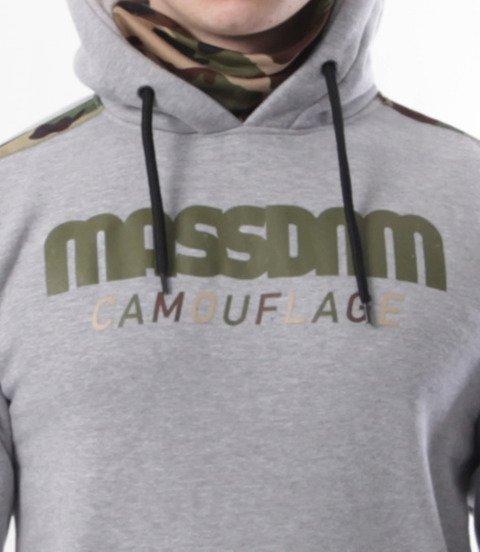 Mass-Mass-Bluza Sweatshirt Shelter Hoody Szara