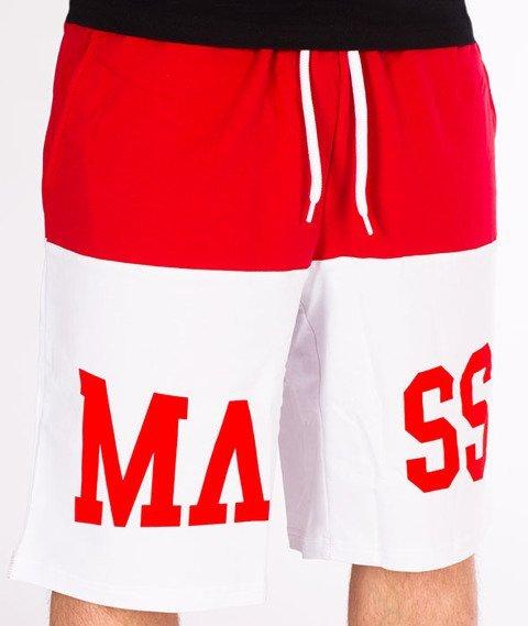 Mass-Master Spodnie Dresowe Krótkie White