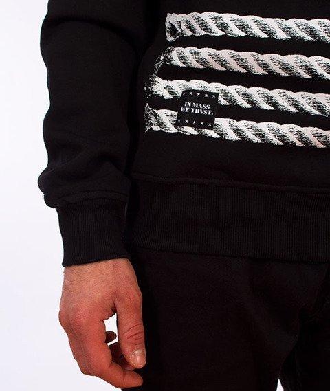 Mass-Plate Crewneck Bluza Czarna