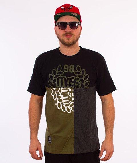 Mass-Puzzle T-Shirt Czarny