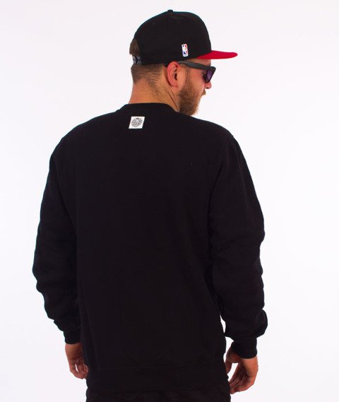 Mass-Real Chill Crewneck Bluza Czarna/Multikolor