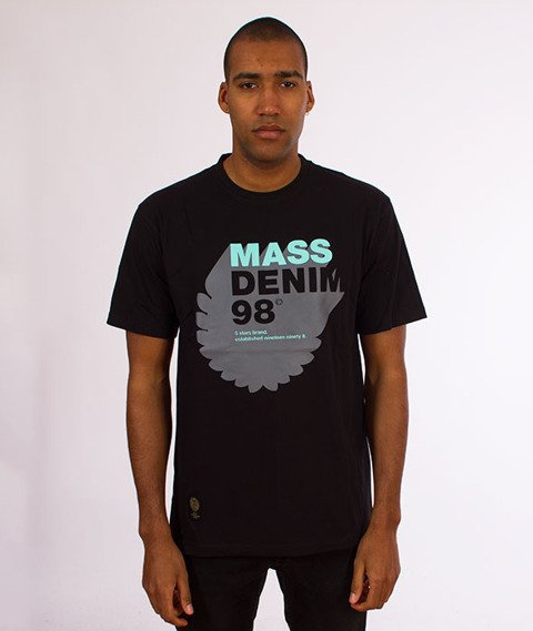 Mass-Reallocation T-Shirt Czarny
