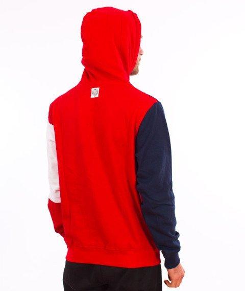 Mass-Republic Bluza Kaptur Red