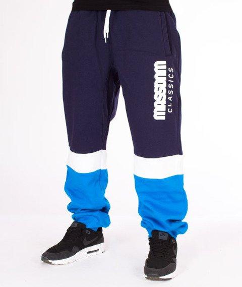 Mass-Respect Regular Fit Spodnie Dresowe Blue/Navy