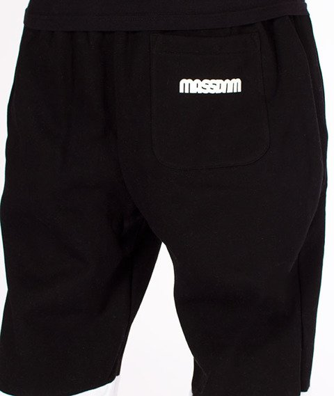 Mass-Respect Regular Fit Spodnie Dresowe Light Heather Grey/Black
