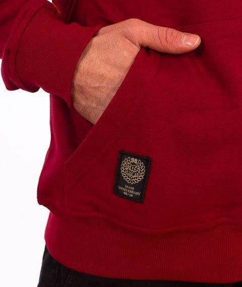 Mass-Signature Bluza Z Kapturem Claret