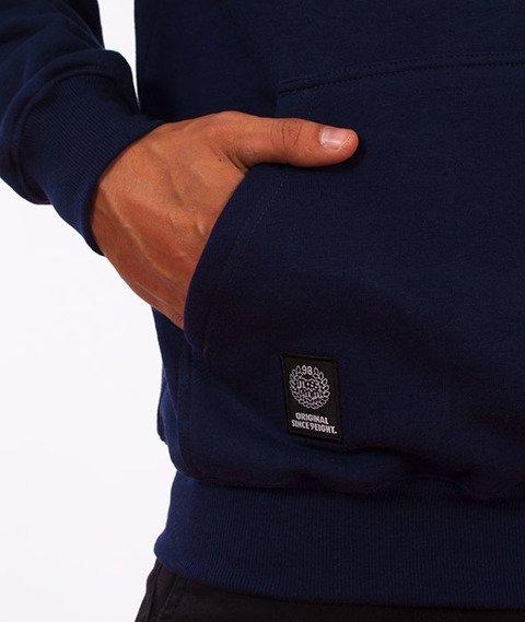 Mass-Signature Bluza Z Kapturem Granatowa