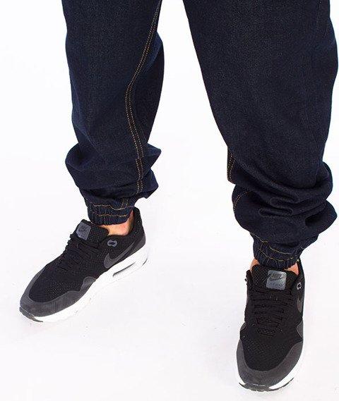 Mass-Signature Denim Sneakers Fit Jogger Rinse Blue