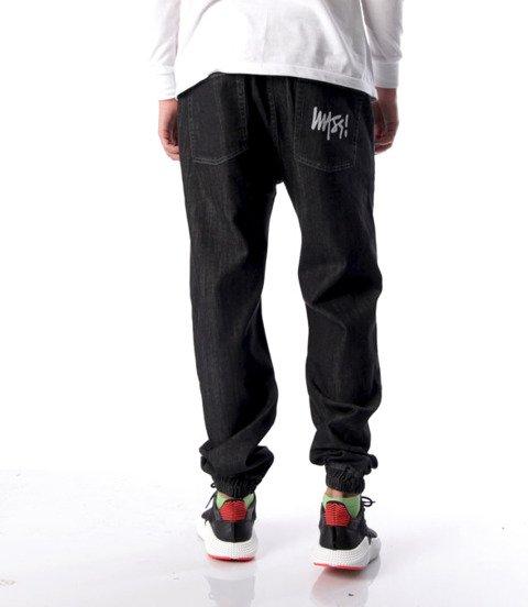 Mass-Signature Jogger Jeans Spodnie Black Rinse