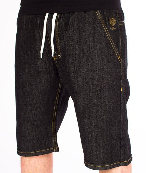 Mass-Signature Shorts Jeans Straight Fit Rinse
