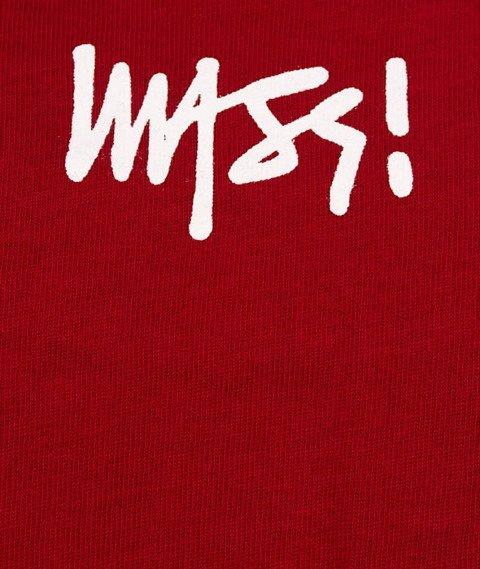 Mass-Signature T-shirt Claret