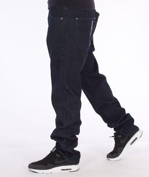 Mass-Stamp Regular Fit Jeans Rinse Blue