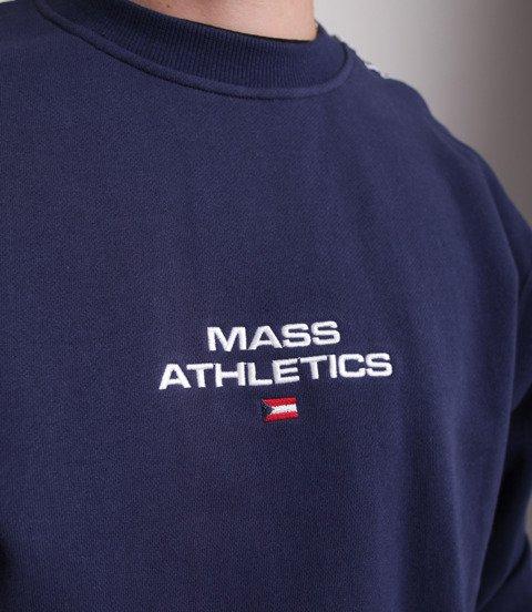 Mass TRACK Bluza Granatowy