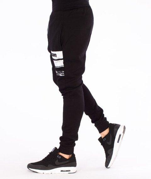 Mass-Traces Spodnie Dresowe Czarne