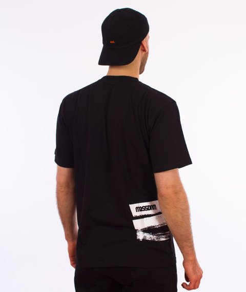 Mass-Traces T-shirt Czarny