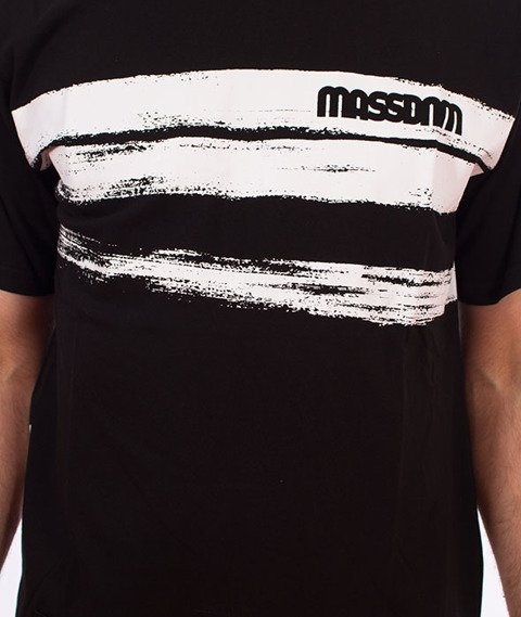Mass-Traces T-shirt Czarny