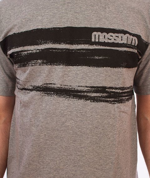 Mass-Traces T-shirt Szary
