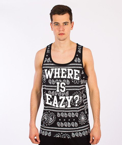 Mass-Where Is Eazy Tank-Top Czarny