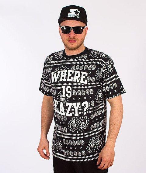 Mass-Where is Eazy T-shirt Czarny