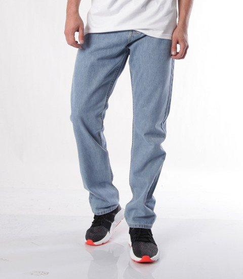Mass-spodnie Jeans Base Regular Fit Light Blue