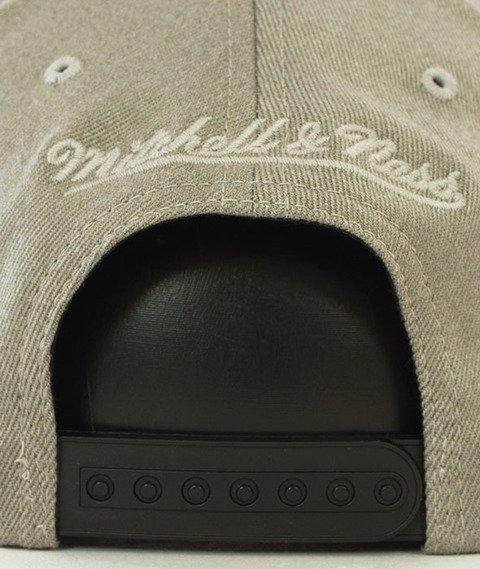 Mitchell & Ness-Brooklyn Nets Snapback Czapka Szara