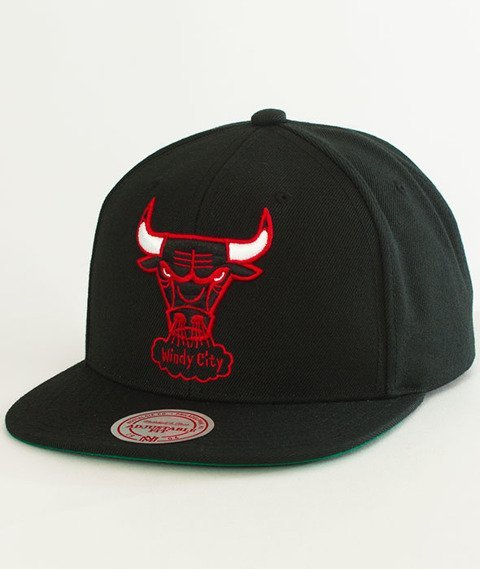 Mitchell & Ness-Chicago Bulls Solid Team Snapback NL99Z